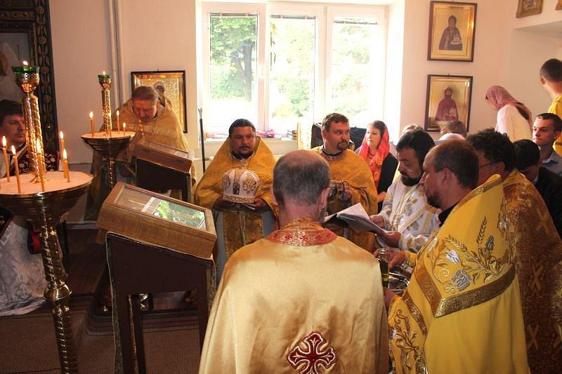 Nový chrám se podařilo pravoslavným vybudovat po velkém úsilí.