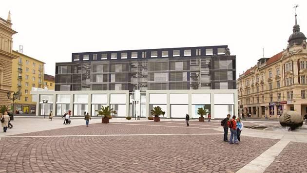 Po rekonstrukci mají v domě na Horním náměstí vzniknout byty 4+1.