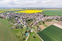 Obec Chlebičov.