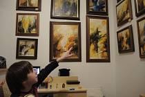 Za díla malého Kryštofa by se nemusel stydět ani mnohý dospělý malíř.