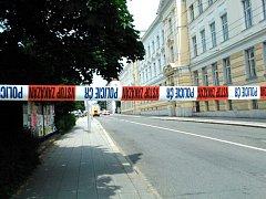 Kvůli nálezu munice byla v úterý uzavřena ulice Komenského v Opavě, a to od křižovatky s ulicí Praskova až po Nádražní Okruh.