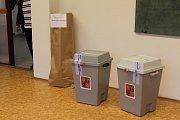 Volby do Parlamentu České republiky, sobota 21. října 2017, Základní škola Šrámkova v Opavě.