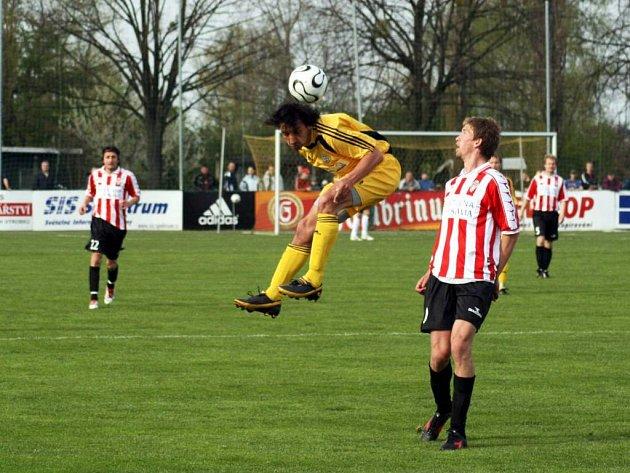 Hlučínští fotbalisté pokračují v jarních nezdarech. Nedaří se ani zkušeným, jako například Hornyakovi.