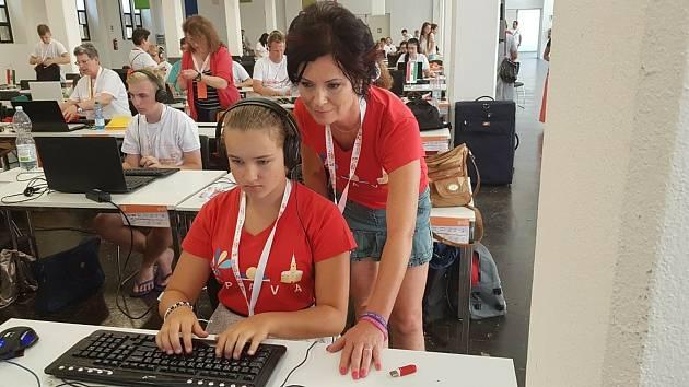 Učitelka, výchovná poradkyně a trenérka Karin Solná
