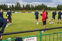 Úvodním tréninkem v Chlebičově započali fotbalisté druholigové Opavy přípravu na nový soutěžní ročník.