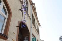 Kino Orion v Hradci nad Moravicí.