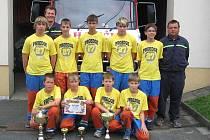 Mladí hasiči z Podvihova vyhráli letošní ročník opavské ligy mládeže v požárním sportu.