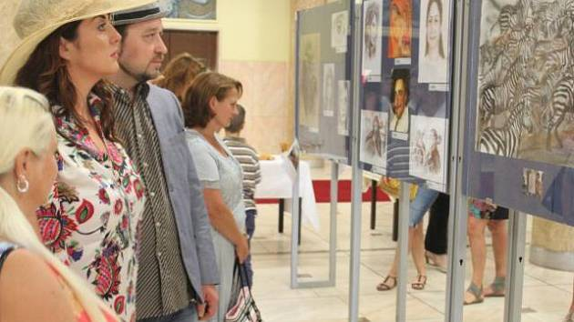Výstava Viridianu v Ostravě.