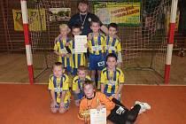 Vítězné družstvo mladších žáků ročník 2002 - SFC Opava.