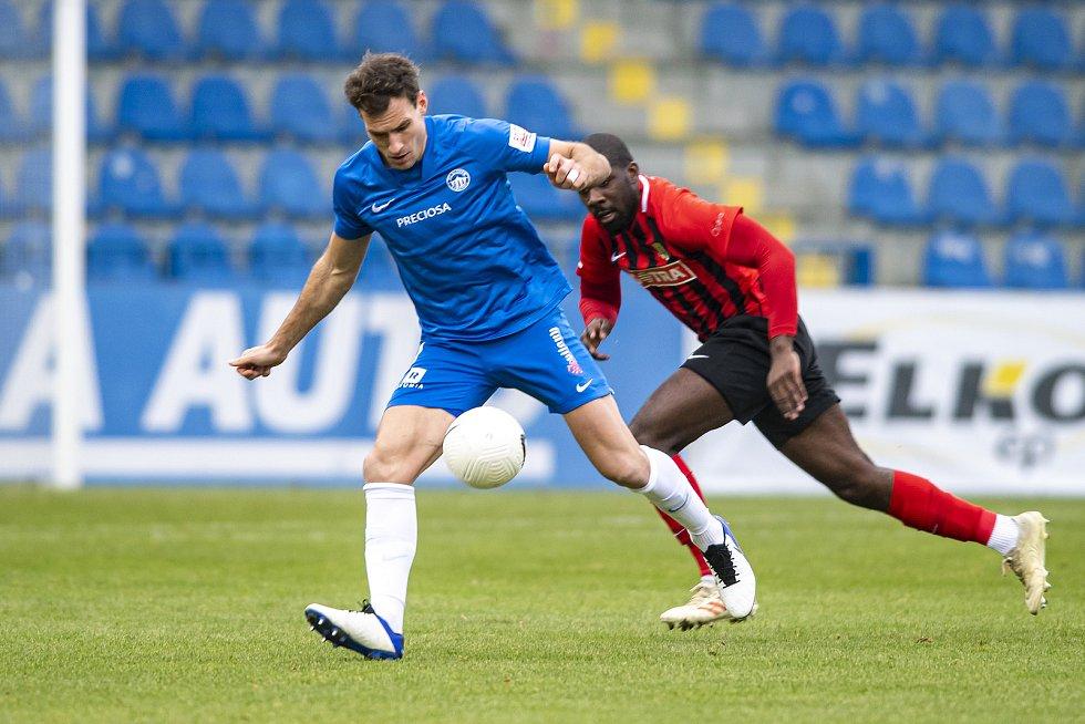 FC Slovan Liberec - Slezský FC Opava (12.kolo) 2:0 poločas