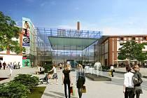 Vizualizace nového společenského centra Breda & Weinstein.