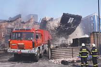 Členové Hasičského záchranného útvaru v Hlučíně se svou technikou zasahují při všech možných událostech po celé republice.