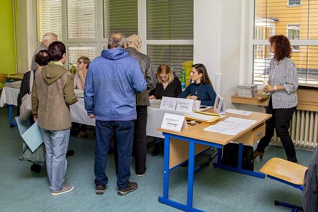 Volby na ZŠ Opava, Edvarda Beneše 2, pátek 5.října 2018