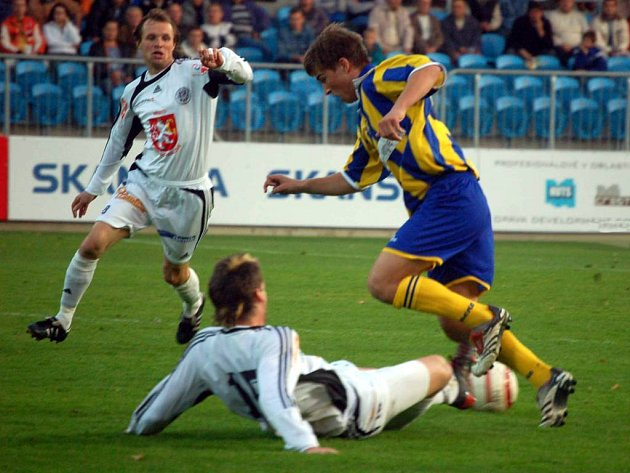 Fotbalový útočník Pavel Šultes ještě na podzim oblékal dres Opavy. V zímní přestávce se vrátil ale zpět na Hanou.