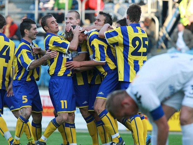 Slezský FC Opava - 1.FC Slovácko B 4:0