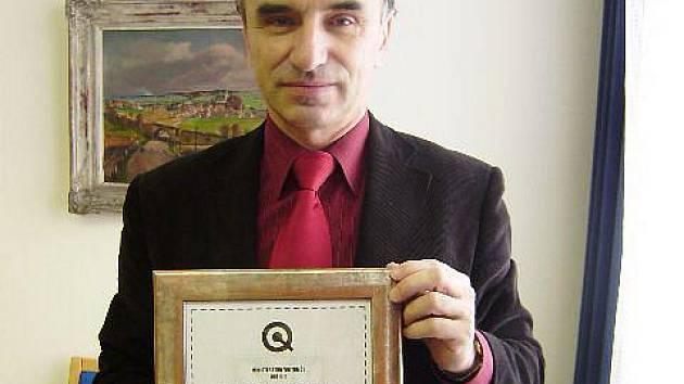 Město Hlučín se dočkalo ocenění. Starosta města Bernard Ostárek si ale pro něj musel dojet v polovině tohoto týdne až na jih Čech, do Tábora.