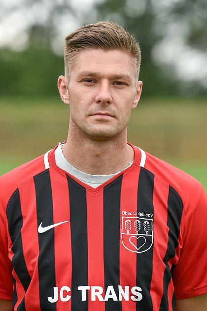 Fotbalový klub SK Viktorie Chlebičov, 9.června 2020vChlebičově. Vojtěch Konečný, střední záložník.