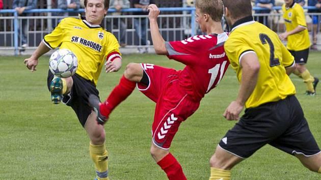 SK Kravaře – FC ELSEREMO Brumov 2:0