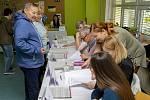 Volby na ZŠ Opava, Edvarda Beneše 2, pátek 5. října 2018