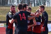 Sokolov - Utkání 18. kola Fotbalové národní ligy FK Baník Sokolov - SFC Opava.