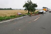 Nehoda mezi obcemi Dolní Benešov a Kozmice na Opavsku