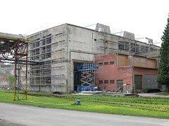 Rekonstrukce tzv. Nové haly začala v březnu letošního roku.