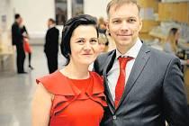 Dalibor Hudec s manželkou.