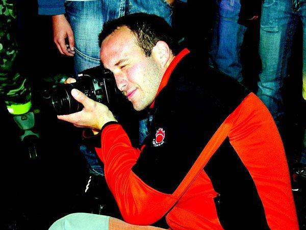 """David Bernard říká: """"Fotím pro lidi."""""""