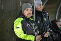 MARCEL MELECKÝ, trenér Hlučína byl po utkání pořádně zklamaný.