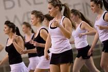 Opavské cheerleaders v akci.