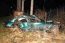 Pondělní tragická nehoda u Bohdanovic.