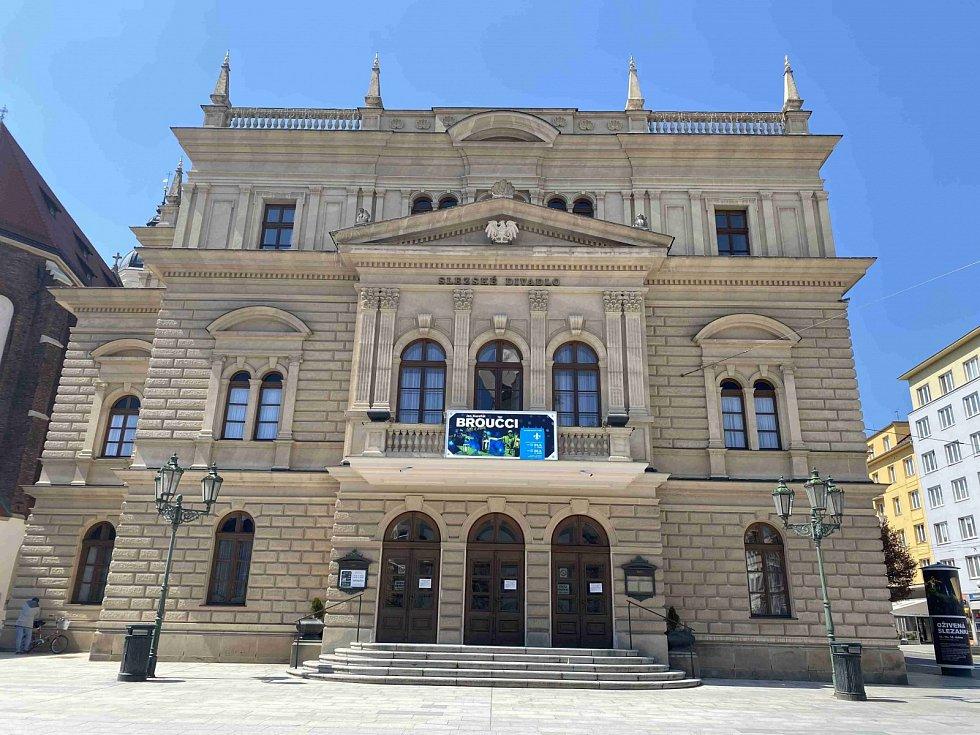 Slezské divadlo v Opavě.