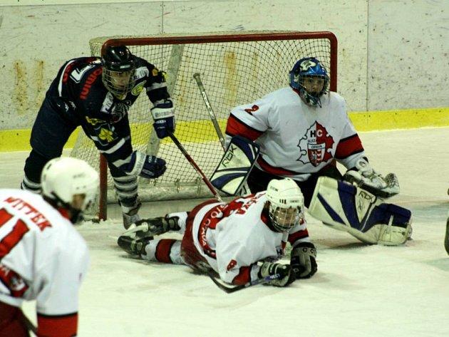Husarský kousek se podařil opavským hokejovým dorostencům. Ve čtvrtfinálové sérii extraligy vyřadili favorizovaný Liberec.