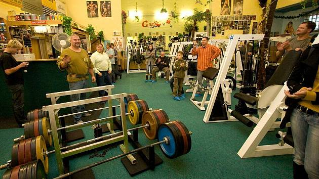 Bavaria Fitness v Kylešovicích (foto z rekordního pokusu René Richtera).