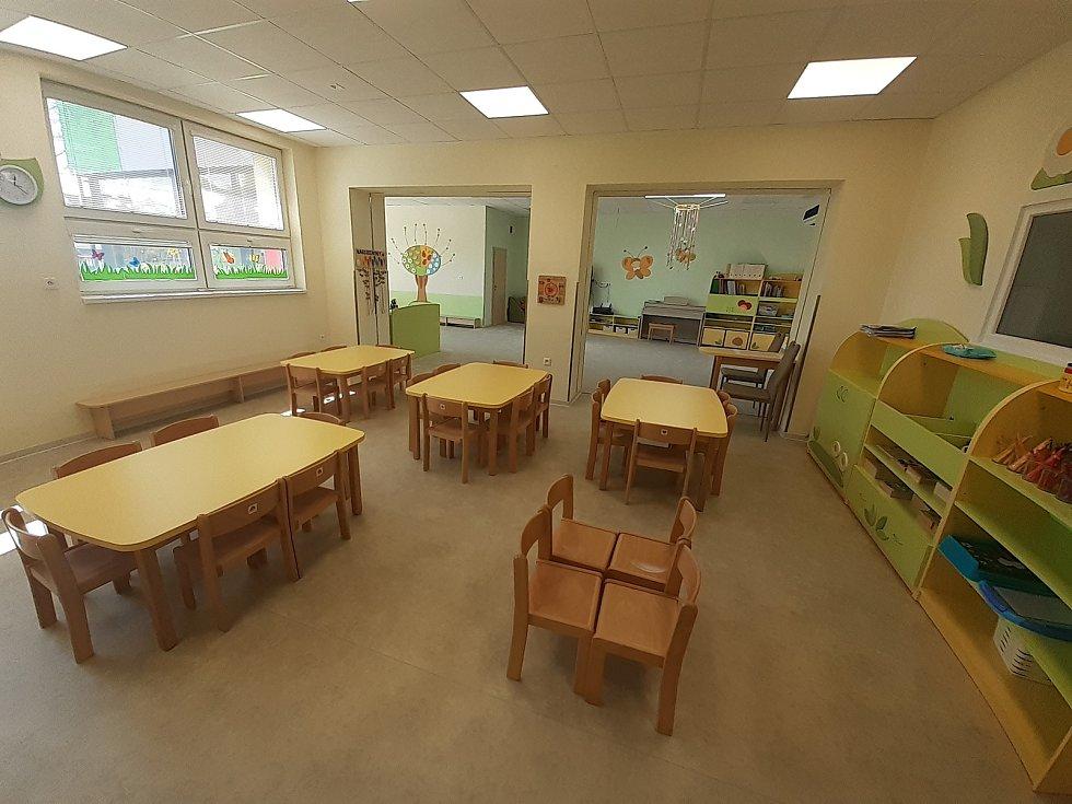 Přistavěná část mateřské školy.