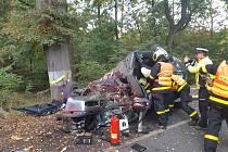 Týmy zdravotnické záchranné služby zasahovaly ve čtvrtek 8. října u smrtelné dopravní nehody na Opavsku.