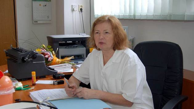 Lékařka Eliška Křivská z Opavy také na jeden den uzavře kvůli neshodám s pojišťovnou svou ordinaci.