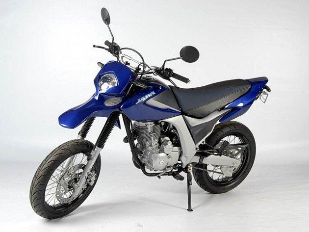 Nový model od opavské firmy Motoscoot Jawa 125 Duck.