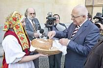 Návštěva prezidenta Václava Klause v Opavě.