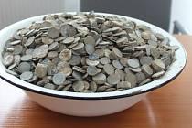 Pod márnicí se ukrýval poklad, tisíce německých mincí.