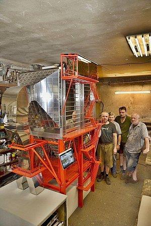 Čtyřčlenný tým výrobě Radegasta věnoval dva a půl měsíce intenzivní práce.