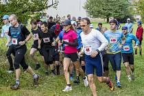 Na startu Silesia kros maratonu, který se uskutečnil v sobotu, se sešli běžci všech věkových kategorií.