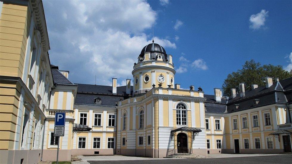 Šilheřovice a zámecký park.