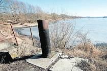 Hlučínské jezero Štěrkovna.