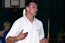 Trenér opavských basketbalistů David Klapetek.