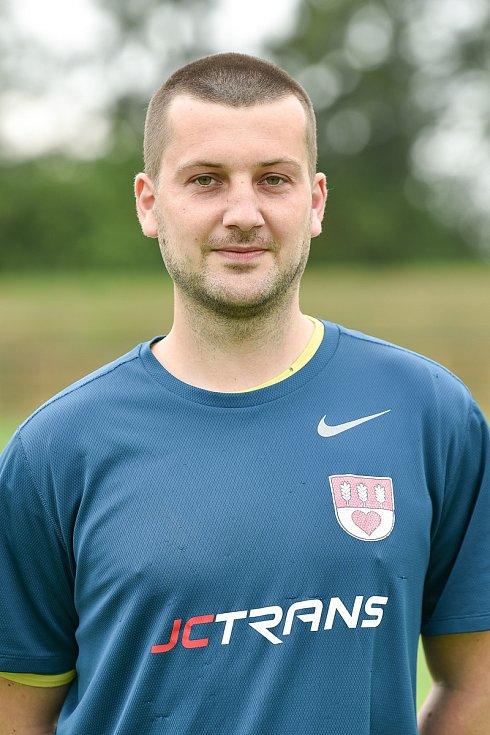 Fotbalový klub SK Viktorie Chlebičov, 9. června 2020 v Chlebičově. Václav Sikora, brankář.