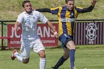 Jakub Kuzník vstřelil vítězný gól v zápase s Havířovem.