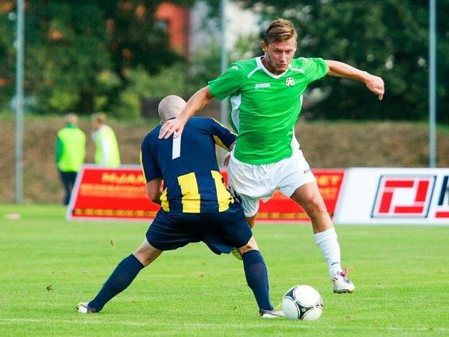 Petr Ondrušík (v zeleném)