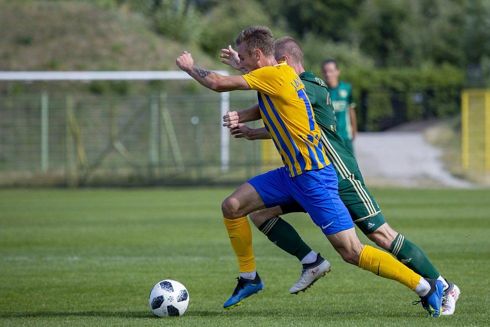 Nováček FORTUNA:LIGY z Opavy vyhrál sobotní zápas na hřišti Slasku Wroclav, účastníka polské nejvyšší soutěže.