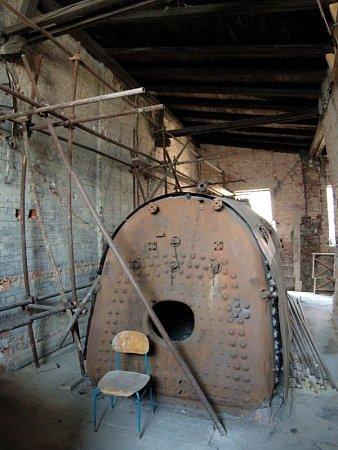 Kotel, který se zachoval vinteriéru věže, je jediný svého druhu vČeské republice.